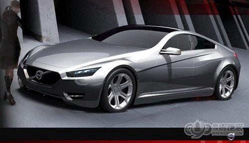 或成为S90 沃尔沃全新概念车预告图高清图片