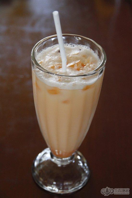 润泽木瓜,木瓜汁的浓稠感融合了牛奶的丝滑感