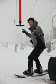 安吉——滑雪温泉