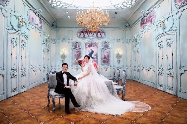 苏州婚纱摄影婚礼前的现场考察 苏州婚纱照唯美意境之夕阳温情 苏州
