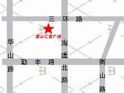 虞山汇金广场的位置图
