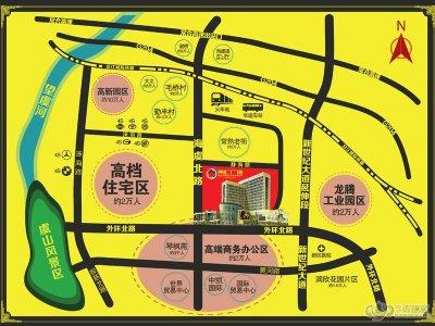 常汇广场的位置图