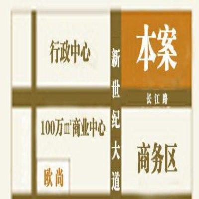 中冶虞山尚园的位置图