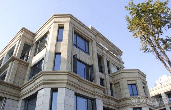 欧式风格平层建筑
