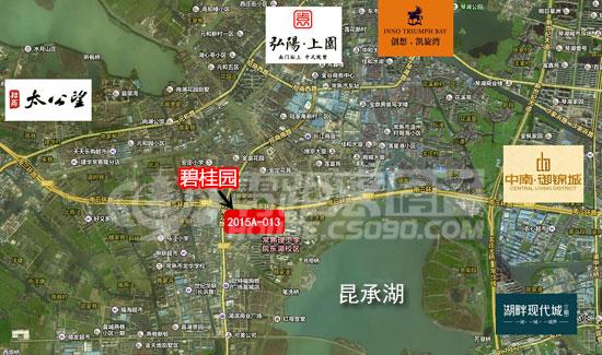 2015a-013地块位于南三环南莫城镇,附近为原常熟市老农贸市场,与