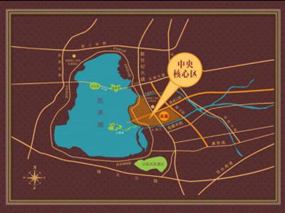 紫晶创意广场的位置图