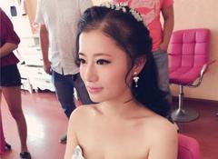新娘试妆照——婚纱造型