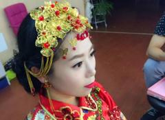 新娘试妆——中式