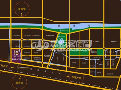 宝鸿商业广场的位置图