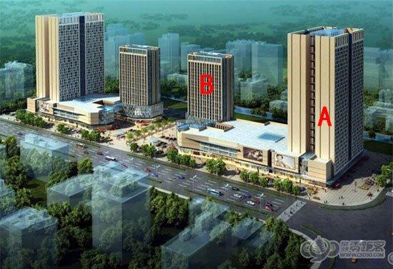 常熟零距离房产网 隆盈广场1月工程进度 二期工程已开始动工
