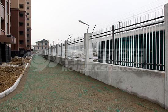 别墅砖砌围墙图集