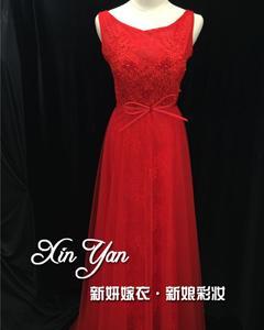 【新妍嫁衣】红色礼服
