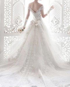 【MU木.新娘】白色婚纱