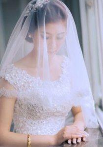 【米儿彩妆】优雅新娘全程跟妆