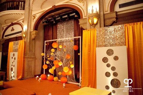 赫柏·婚礼——橙色婚礼