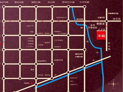金润家园的位置图