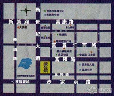 东区派公馆的位置图