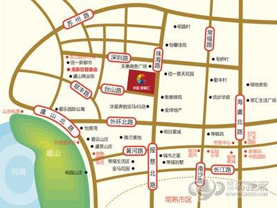 庆裕新都汇的位置图