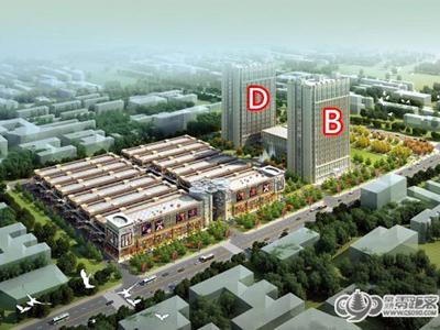 东南悦城的效果图