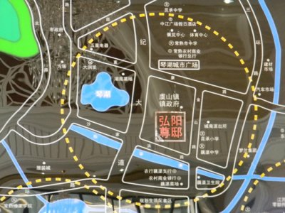 弘阳尊邸的位置图
