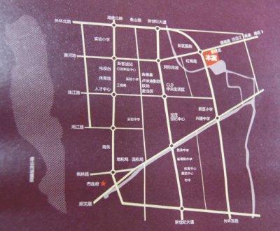 金茂四季花园的位置图