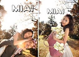 米爱婚纱样照
