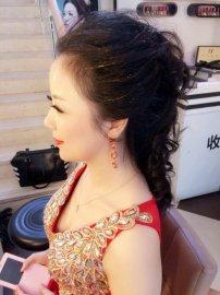 中式新娘客照