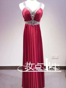【妆点一生】红色礼服