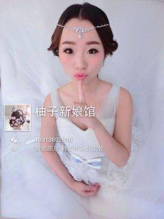 日韩新娘妆容