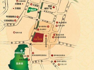 常熟中南御锦城的位置图