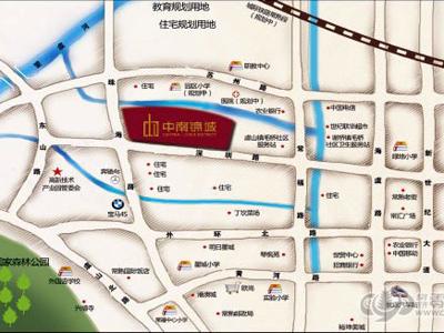 常熟中南锦城的位置图