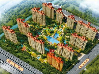 常熟中南御锦城的效果图