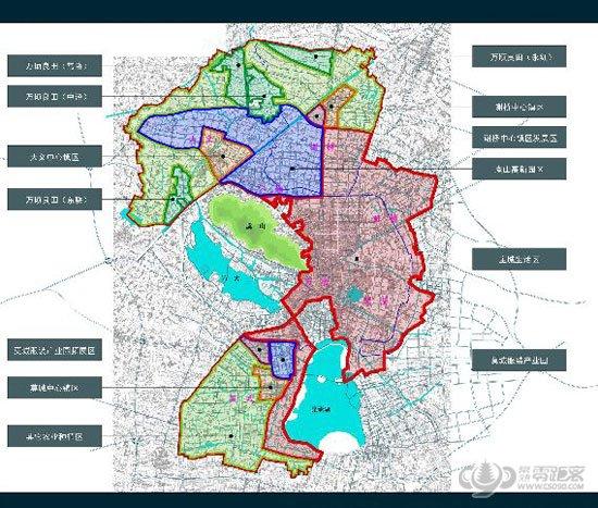 鹤壁市山城区规划图