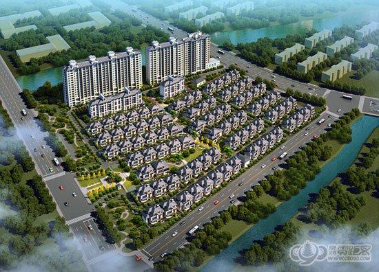 昆承湖畔 富麗莊園89-143平小高層戶型公開