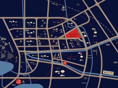 碧桂园柏悦华府的位置图