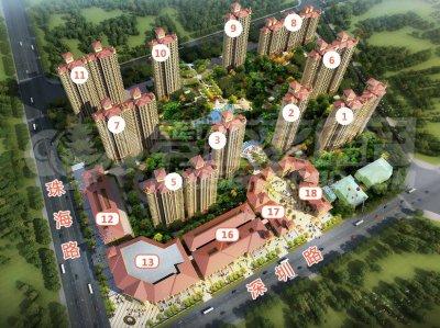 常熟中南锦城的效果图
