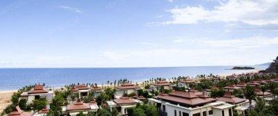 雅居乐海南清水湾的实景图