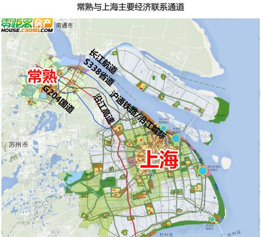 长通街道地图