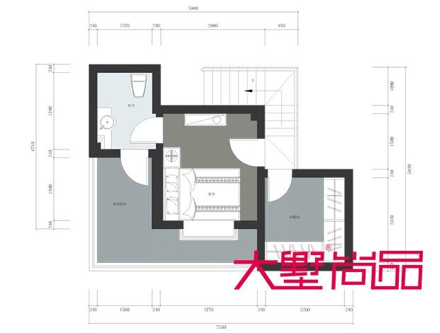 衡泰锦苑180㎡复式新中式风格