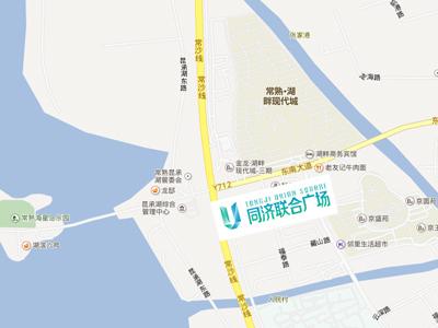 同济科技广场的位置图