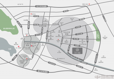 金悦融庭的位置图