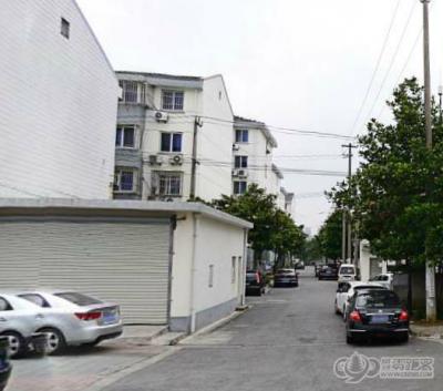 漕泾新村六区的LOGO图