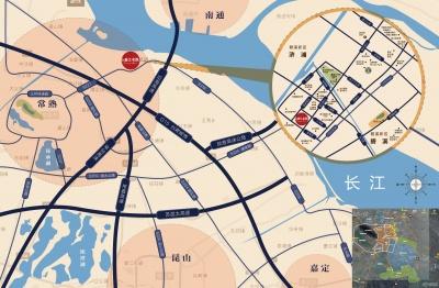 碧桂园·春江名筑的位置图