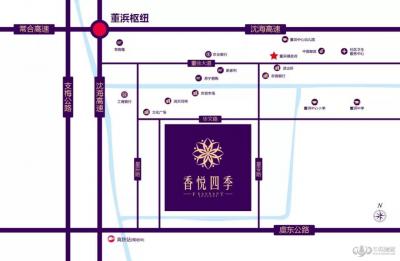 香悦四季雅苑的位置图
