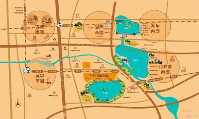 保利悦都SOHO的位置图