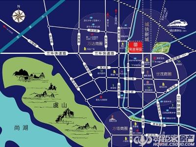 紫誉华庭的位置图