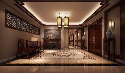 尚湖镇500平新中式别墅