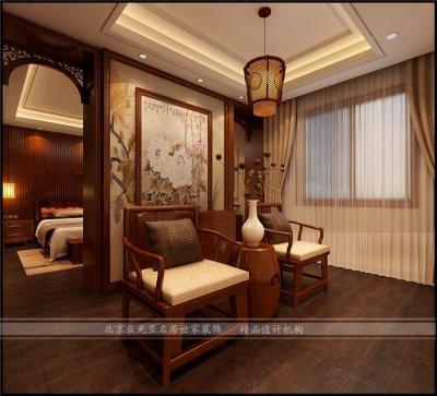 香榭丽墅220平新中式