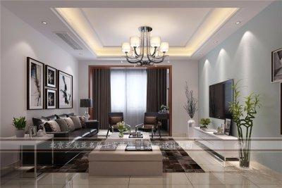 汇金豪苑150平现代风格