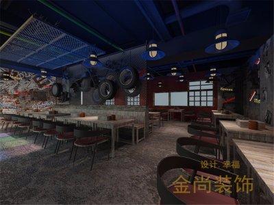 上海裙房凌云壹街坊260平餐厅